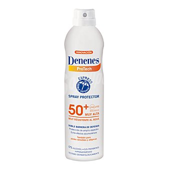 Denenes Loción solar FP50+ Spray de 250 ml
