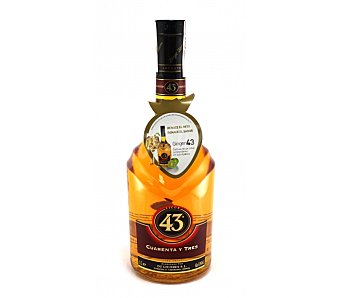 Licor Cuarenta y Tres Licor 43 Botella 1 litro