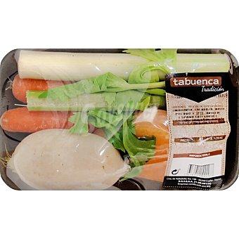 Tabuenca Surtido de verduras con calabaza peso aproximado Bandeja 600 g