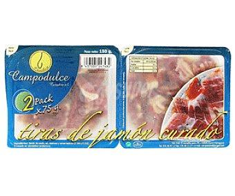 Campodulce Tiras de Jamón Curado Jamón Curado Tiras 150
