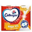 Papel cocina Mega XXL Paquete 2 rollos Colhogar