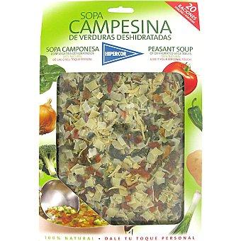 Hipercor Sopa campesina deshidratada Estuche 200 g