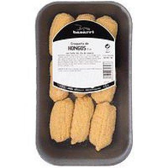 Basarri Croquetas de hongos Bandeja 300 g