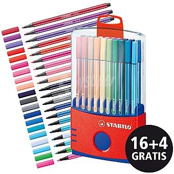 STABILO 6820-031 Estuche con 16 rotuladores + 4 gratis