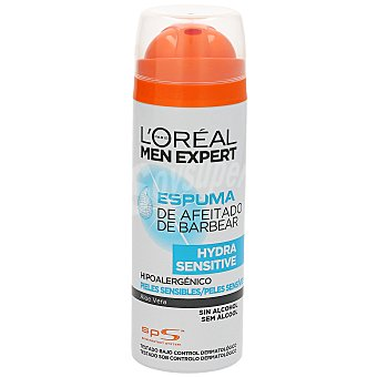 Men Expert L'Oréal Paris Espuma de afeitar piel Sensible Spray 200 ml