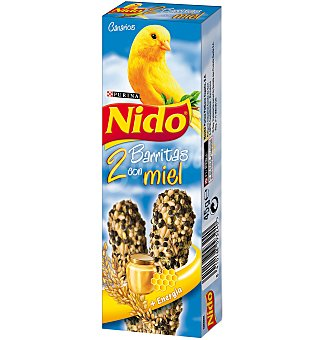 Purina Nido Canarios Barritas con Miel 45g