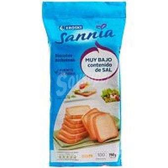Eroski Sannia Biscote sin sal Paquete 750 g