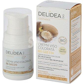 DELIDEA Bio crema facial con color beige natural Envase 50 g
