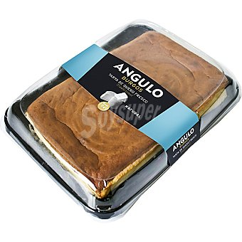 Angulo Tarta de queso fresco natural  1,8 kg (peso aproximado pieza)