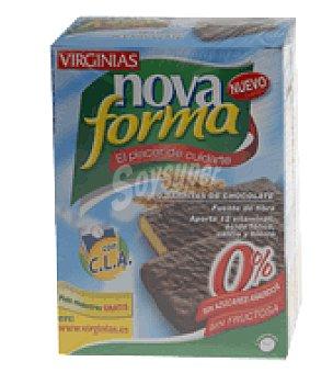 Novaforma Barrita chocolate virginias 1 paquete de 230 gr