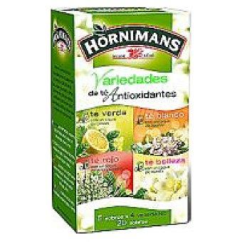 Hornimans Infusión variedad de antioxidantes Caja 20 sobres