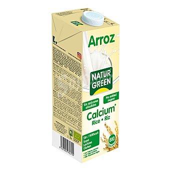 Naturgreen Bebida de arroz calcium bio sin gluten y sin lactosa 1 l