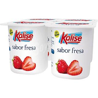Kalise Yogur sabor fresa pack 4 unds. 125 g Pack 4 unds. 125 g