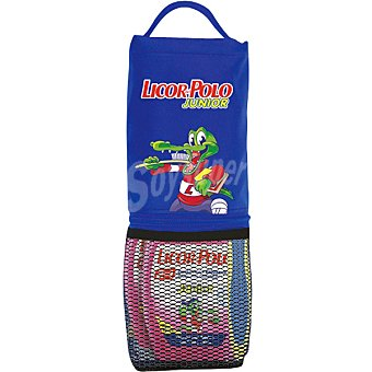 LICOR DEL POLO Junior kit compuesto por dentífrico con elixir 2 en 1 sabor fresa + cepillo de dientes + neceser portalapiceros pack 2 bote 75 ml
