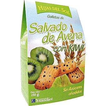 HIJAS DEL SOL Galletas de salvado de avena con kiwi Paquete 250 g