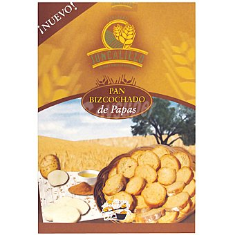 Juncalillo Biscotes de pan bizcochado de patatas Estuche 350 g