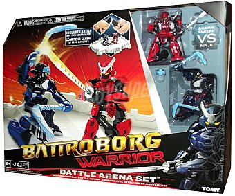 BIZAK Playset Arena de Batalla de los Battroborg 1 Unidad
