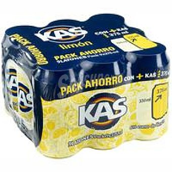 Kas Refresco de limón Pack 9x37,5 cl