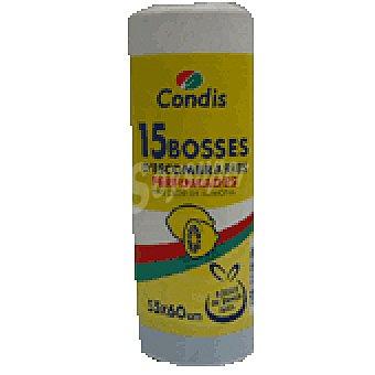 Condis Bolsa basura perfumada (30 L) 15 bolsas