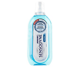 Sensodyne Enjuague bucal sin alcohol, con sabor a menta, para pesonas con sensibilidad dental 500 ml