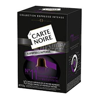 Carte Noire espresso 11 10 cápsulas