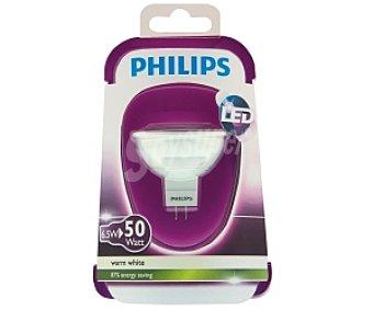 Philips Foco led 6,5W( equivalencia 50W) , casquillo GU5.3, blanca cálida,12V Forma MR16 No regulable 1u