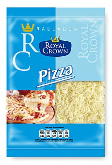 Royal crown Queso rallado topping pizza 115 g