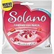 Caramelo Fresas con Nata Sin Azúcar 99G Solano