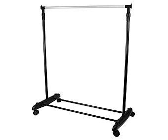 Versa Perchero extensible sencillo de 160 cm, con ruedas