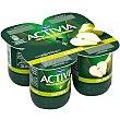Yogur con pera pack 4 unidades 125 g Activia Danone