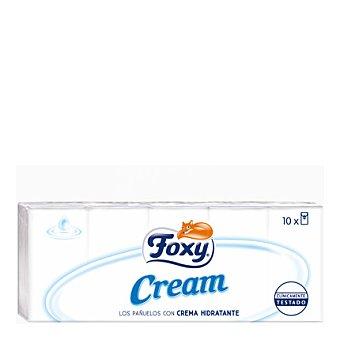 Foxy Pañuelos con crema hidratante 10 ud