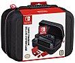 Funda de transporte para Switch para consola, accesorios y cables en color negro, ardistel  Nintendo