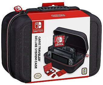 Nintendo Funda de transporte para Switch para consola, accesorios y cables en color negro, ardistel