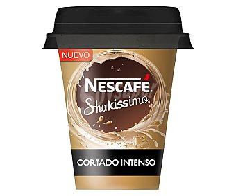 Nescafé Shakissimo Bebida de café cortado sabor intenso 120 ml