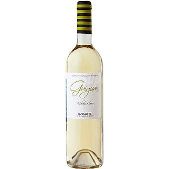 GUIGUAN Vino blanco malvasia seco D.O. Lanzarote botella 75 cl Botella 75 cl