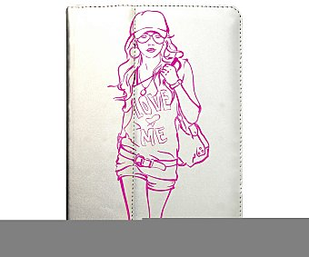 "Port Funda universal para tablet de 7"" a 8"" Girl (tablet no incluido)"