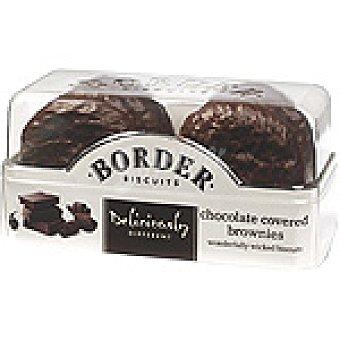BORDER BISCUITS Brownies Galletas cubiertas de chocolate Estuche 175 g