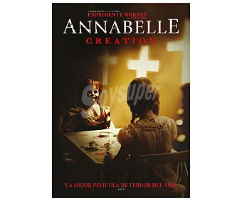Warner bros Anabelle: Creation, 2017, segunda parte de la serie Anabelle. Película en Dvd. Género: horror, misterio, sobrenatural . Edad: +12 años