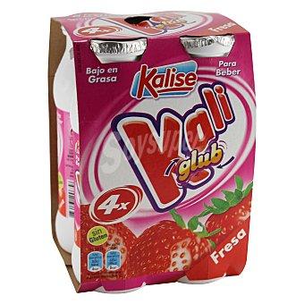 Kalise Kali Glup fresa Pack 4x200 g