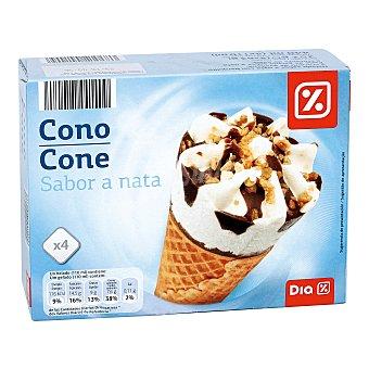DIA Helado cono nata caja 4 uds 252 gr Caja 4 uds 252 gr