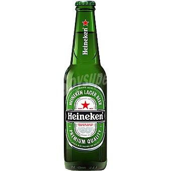 Heineken Cerveza rubia holandesa botella 25 cl Botella 25 cl