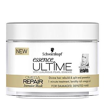 Essence Ultime Schwarzkopf Mascarilla intensiva Omega Repair para cabello dañado 200 ml