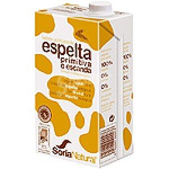 Soria Natural Bebida de espelta primitiva o escanda 100% vegetal ecológica Envase 1 l