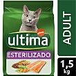 Esterilizado Adult pienso para gatos adultos esterilizados con salmón Bolsa 1,5 kg Ultima Affinity
