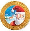 Medallón chocolate papa noel 60 G Simón Coll