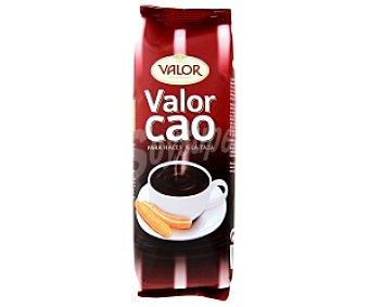 Valor Cacao en polvo, preparado alimenticio al cacao para su consumo cocido 250 Gramos