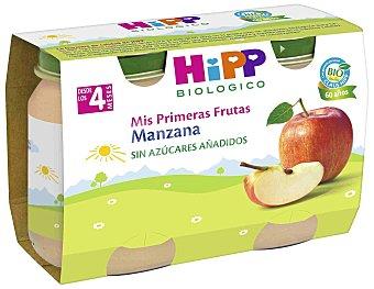 HiPP Biológico Tarrito de puré de manzana bio Pack 2 uds x 125 g