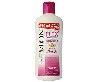 Flex Champú con keratina para cabello fino o sin volumen frasco 650 ml Frasco 650 ml