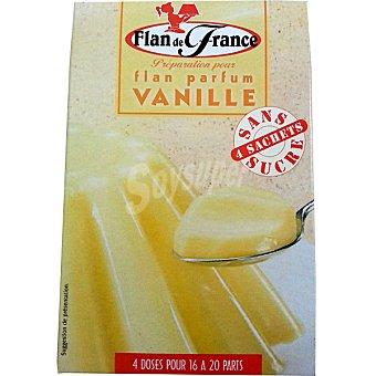 FLAN DE FRANCE flan de vainilla sin azúcar envase 16 g 4 unidades
