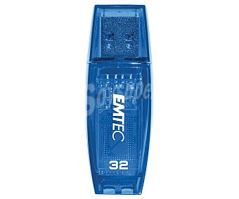 EMTEC COLOR Memoria USB Pendrive C410, 32GB, Usb 2.0,
